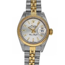 Rolex Lady-Datejust Gold/Steel 26mm Silver No numerals United States of America, Maryland, Baltimore, MD