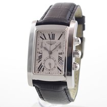 Longines DolceVita pre-owned 28mm Champagne Leather