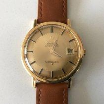 Omega 168004/14 Geelgoud 1964 Constellation 36mm tweedehands
