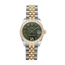 Rolex Lady-Datejust Steel 31mm Green Roman numerals United States of America, Pennsylvania, Bala Cynwyd