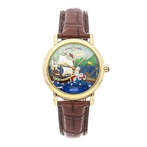 Ulysse Nardin Yellow gold Automatic No numerals 37mm pre-owned San Marco