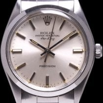 Rolex Air King Precision Steel 34mm Silver No numerals United States of America, California, Los Angeles