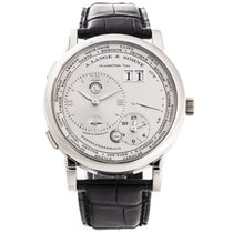 A. Lange & Söhne Platinum Manual winding Silver 41.9mm pre-owned Lange 1