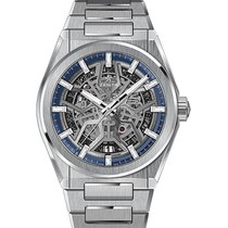 Zenith Titanium Automatic Transparent 41mm new Defy