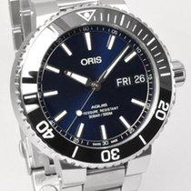 Oris Hammerhead Limited Edition Stahl 45.5mm Blau Keine Ziffern Deutschland, Teuschnitz