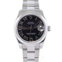 Rolex Lady-Datejust Acier 31mm Noir