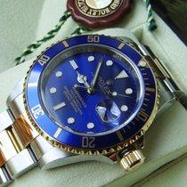 Rolex 16613 Gold/Stahl 2009 Submariner Date 40mm gebraucht