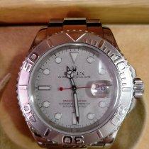 Rolex Yacht-Master 40 Steel Silver No numerals