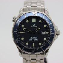 Omega Seamaster Stahl 41mm Blau Keine Ziffern
