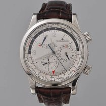 Jaeger-LeCoultre Master World Geographic pre-owned 42mm Silver