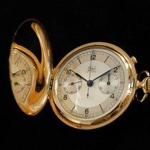Ebel Ebel Chronographe Very good Yellow gold Manual winding