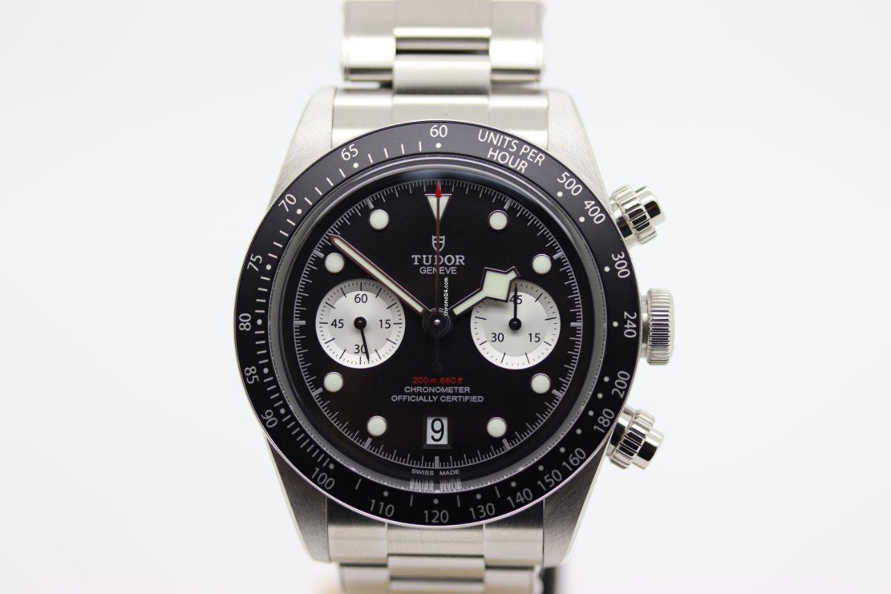 Tudor Black Bay Chrono M79360N-0001 2021 nuevo