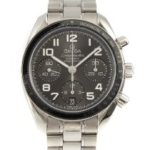 Omega Speedmaster Ladies Chronograph Steel 38mm Grey