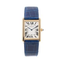 Cartier Tank Solo Yellow gold 28mm Silver