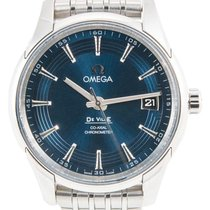 Omega De Ville Hour Vision Steel 41mm Blue No numerals United Kingdom, London