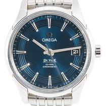 Omega De Ville Hour Vision Çelik 41mm Mavi Rakamsız