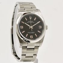 Rolex Oyster Perpetual 36 usados 36mm Negro Acero
