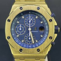 Audemars Piguet Royal Oak Offshore Chronograph Or jaune 42mm Bleu Belgique, Antwerpen