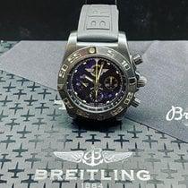 Breitling Chronomat 44 Acier 44mm Noir Arabes