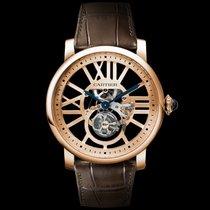 Cartier Rotonde de Cartier Pозовое золото 45mm Прозрачный