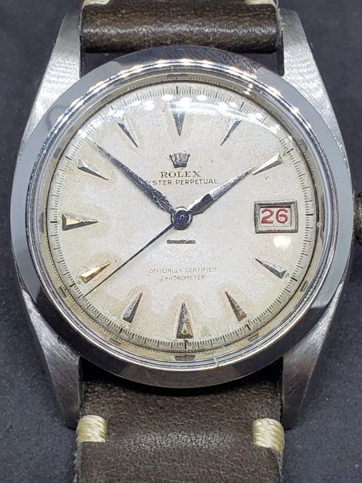 Rolex Bubble Back 6105 1950 pre-owned