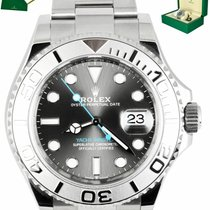 Rolex Steel Automatic 40mm pre-owned Yacht-Master 40