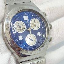 Swatch Steel Quartz Blue Arabic numerals 40mm pre-owned