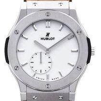 Hublot Classic Fusion Ultra-Thin 515.NX.2210.LR Новые Титан 45mm Механические
