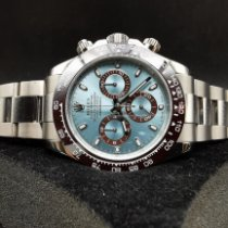 Rolex Daytona Oro bianco 40mm Blu Arabi Italia, VERONA