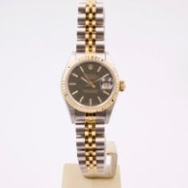 Rolex Lady-Datejust occasion 26mm Noir Date Or/Acier