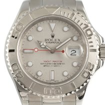 Rolex Steel Automatic Silver 41mm pre-owned Yacht-Master 40