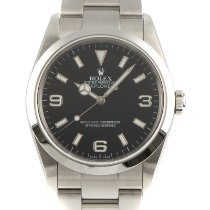 Rolex Explorer Steel 36mm Black