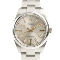 Rolex Oyster Perpetual Acero 41mm Plata