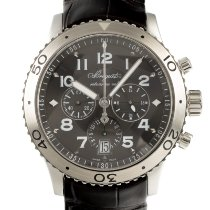 Breguet Type XX - XXI - XXII Steel 42mm Black