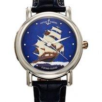 Ulysse Nardin Platinum Automatic Blue 40mm pre-owned San Marco Cloisonné