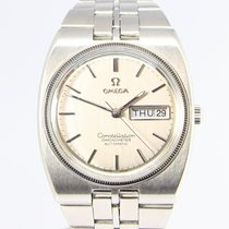 Omega Constellation Day-Date Staal Zilver Geen cijfers