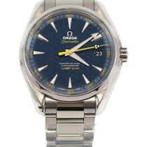 Omega Seamaster Aqua Terra Steel Blue No numerals United States of America, New York, New York