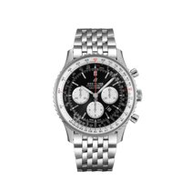 Breitling Navitimer 01 (46 MM) Steel 46mm Black No numerals United States of America, New York, New York City