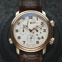 Blancpain Léman Réveil GMT Rose gold 40mm Silver United States of America, California, Irvine
