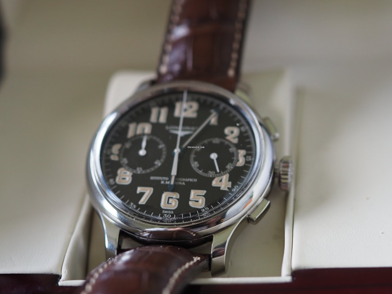 Longines Heritage L2.677.4.53.2 2008 pre-owned