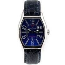 Ulysse Nardin pre-owned Automatic 35mm Blue Sapphire crystal Not water resistant