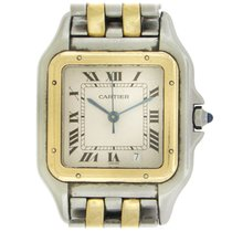Cartier Panthère Gold/Steel 27mm White Roman numerals United States of America, New York, New York