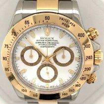 Rolex Daytona Gold/Steel 40mm White No numerals United States of America, New York, New York