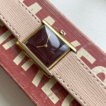 Cartier Tank Vermeil Gold/Steel Red United States of America, New York, New York