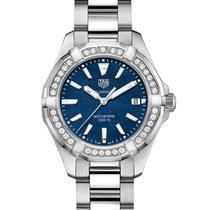 TAG Heuer Aquaracer Lady новые 2021 Кварцевые Часы с оригинальными документами и коробкой WAY131N.BA0748