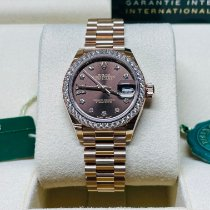 Rolex Lady-Datejust Rose gold Brown United States of America, Florida, West Palm Beach