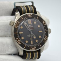 Omega Seamaster Diver 300 M Titanium 42mm Brown No numerals United States of America, New York, New York