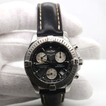 Breitling Colt Chronograph Steel 38mm Black No numerals United States of America, New York, New York