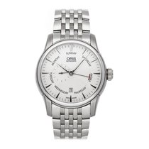Oris Artelier Small Second Steel 44mm Silver No numerals United States of America, Pennsylvania, Bala Cynwyd