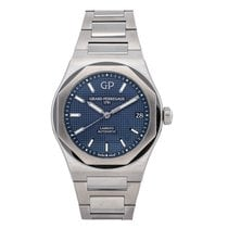Girard Perregaux Laureato Steel 42mm Blue No numerals United States of America, Pennsylvania, Bala Cynwyd